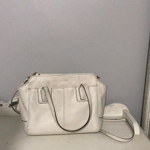 Coach Taylor Leather Bennett Mini Tote Crossbody